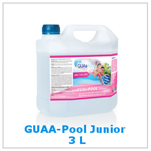 GUAA-POOL Junior 3 litry bez chloru do bazénu